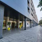 Exterior de la Villa Universitaria, residencia universitaria de Alicante