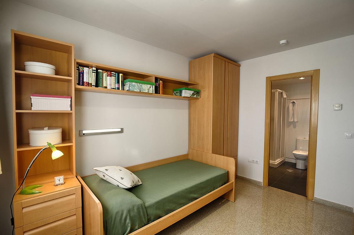Villa universitaria residencia universitaria de alicante for Programa para amueblar habitaciones