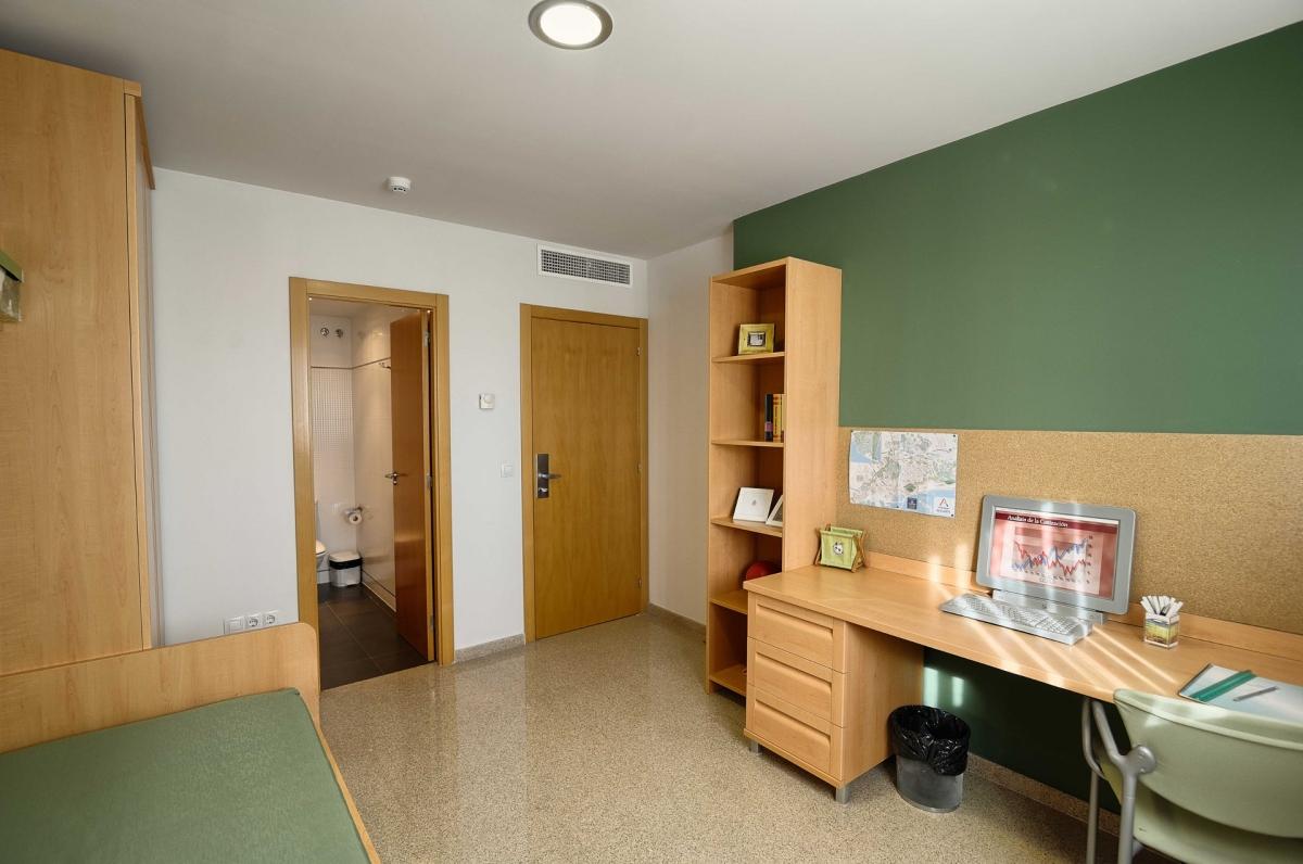Villa universitaria residencia universitaria de alicante for Diseno de apartamentos para estudiantes