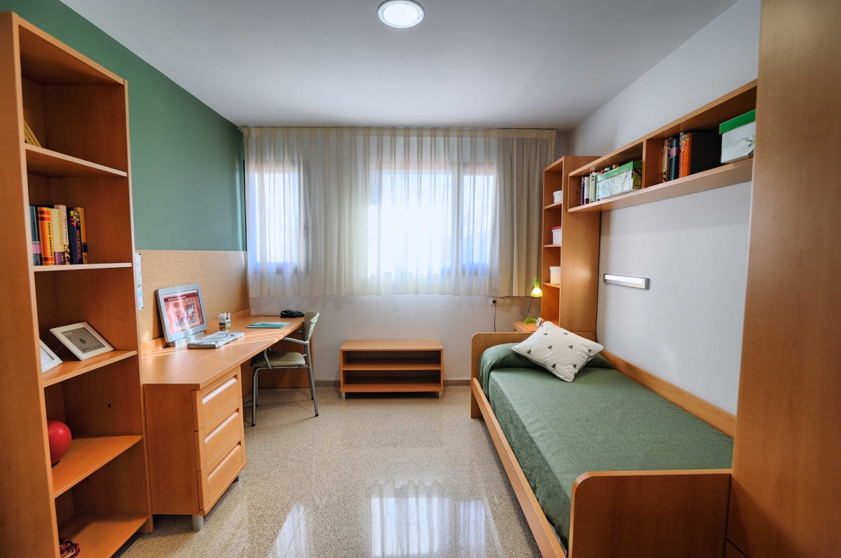 C mo elegir residencia universitaria para 2017 2018 for Diseno de apartamentos para estudiantes