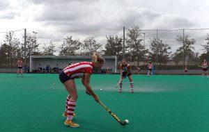 Equipo de hockey en la residencia universitaria de Alicante