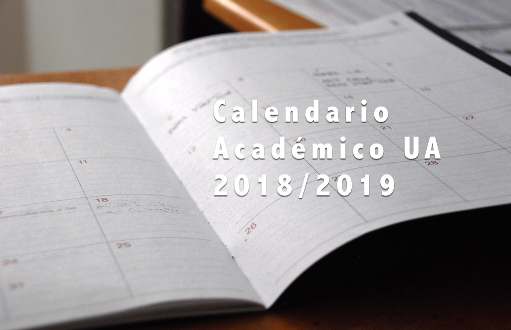 Calendario Laboral Ua.Calendario Academico Ua 2018 2019 Villa Universitaria